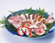 焼き鯛 大皿盛り