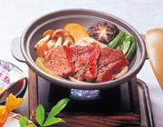 牛肉と野菜の陶板焼き